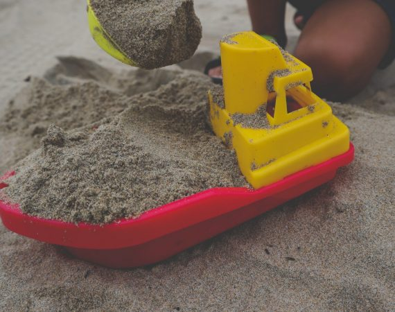 Play. Sand Tray therapy